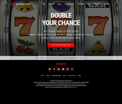 Dragonara Casino Screenshot