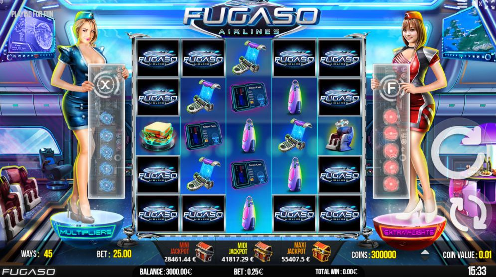 Spiele Fugaso Airlines - Video Slots Online