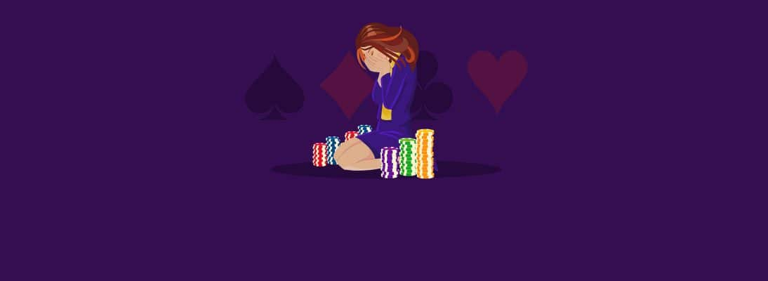 I think I'm addicted to gambling, what should I do now?