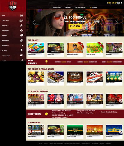 Red Stag Casino Screenshot