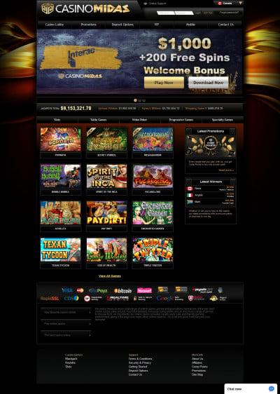 Casino Midas Screenshot