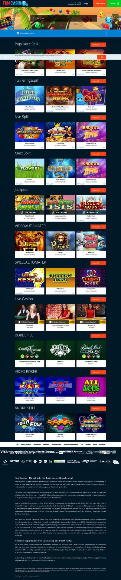 Fun Casino Screenshot