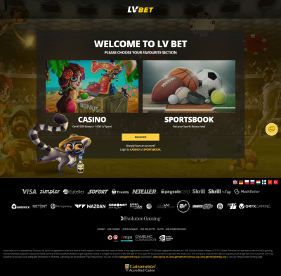 LV Bet Casino Screenshot