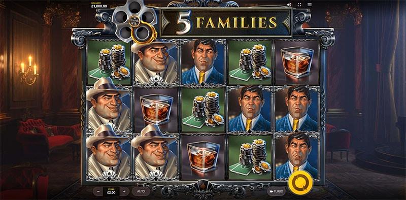 5 Families Slot Screenshot - CasinoTop