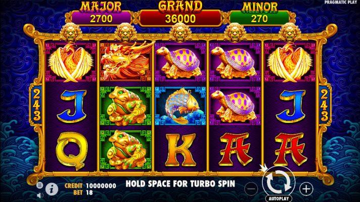 5 Lions Gold Slot Screenshot - CasinoTop