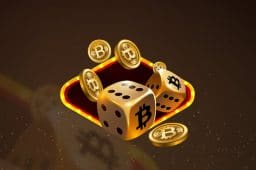 A Bitcoin casino now ranks as the world's third largest online gambling site