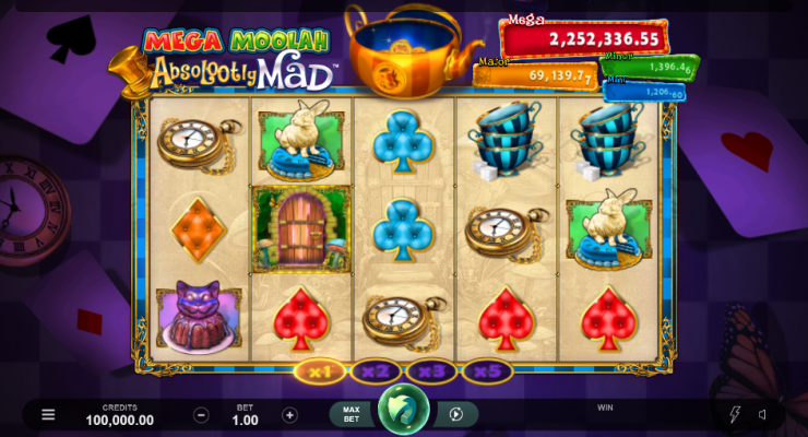 Absolootly Mad Mega Moolah Slot Images - CasinoTop