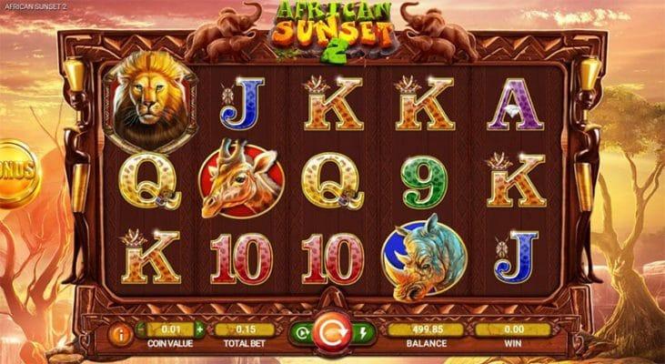 African Sunset 2 Slot Screenshot - CasinoTop
