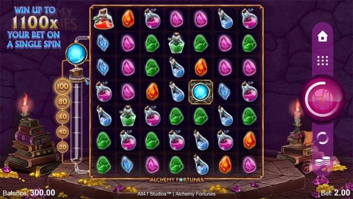 Alchemy Fortunes Slot Screenshot - CasinoTop
