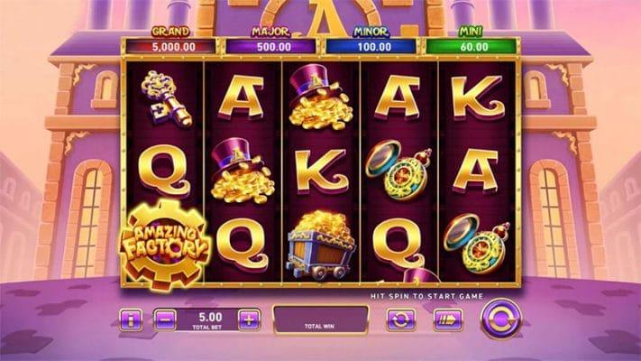 Amazing Factory Slot Screenshot - CasinoTop