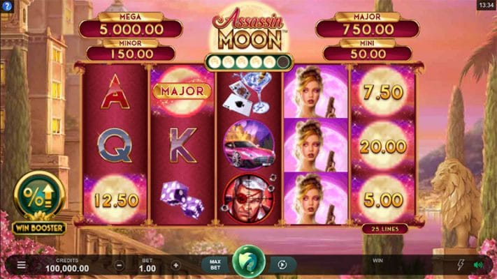 Assassin Moon Slot Screenshot - CasinoTop