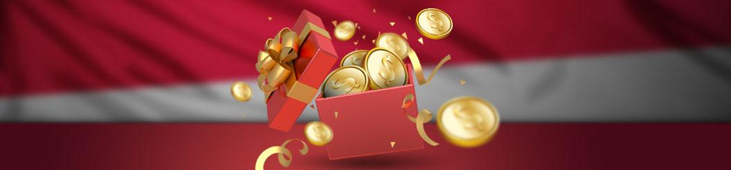 Berbagai bonus dan penawaran