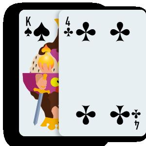 Blackjack Stand Card