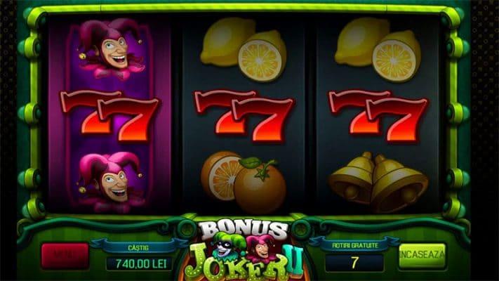 Bonus Joker II Slot Screenshot - CasinoTop