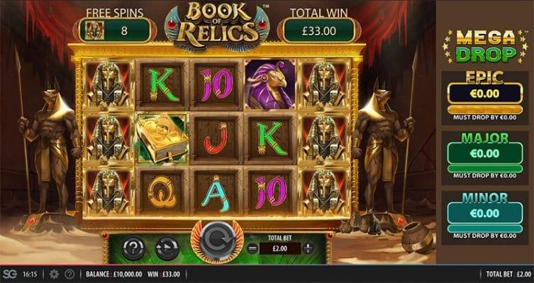 Book of Relics Slot Screenshot - CasinoTop