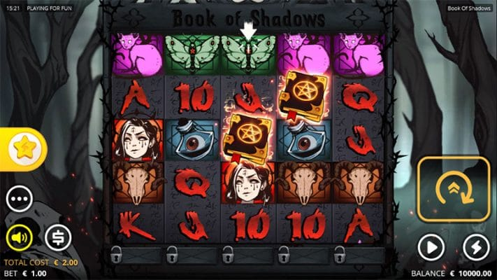 Book of Shadows Slot Screenshot - CasinoTop