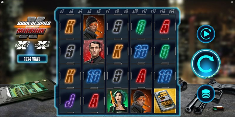 Book of Spies Mission X Slot Screenshot - CasinoTop