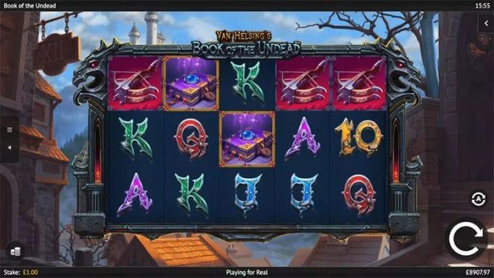 Book of the Undead Slot Screenshot - CasinoTop