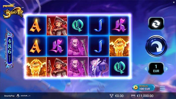 BountyPop Slot Screenshot - CasinoTop