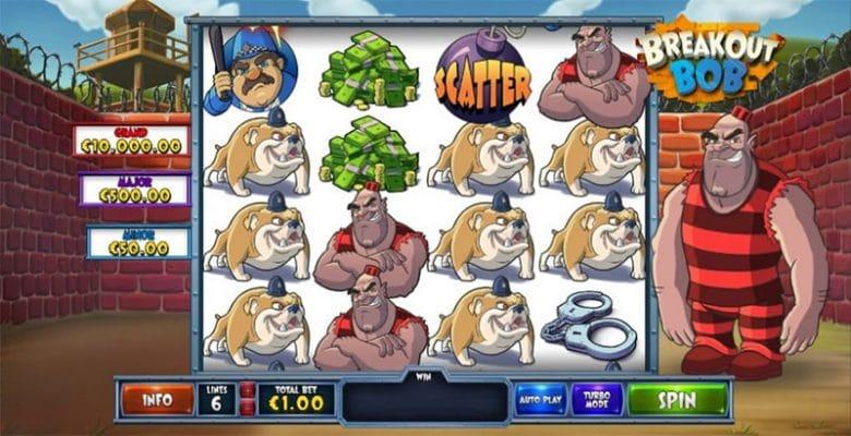 Breakout Bob Slot Screenshot - CasinoTop