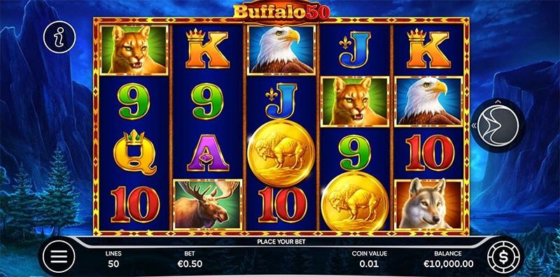 Buffalo 50 Slot Screenshot - CasinoTop