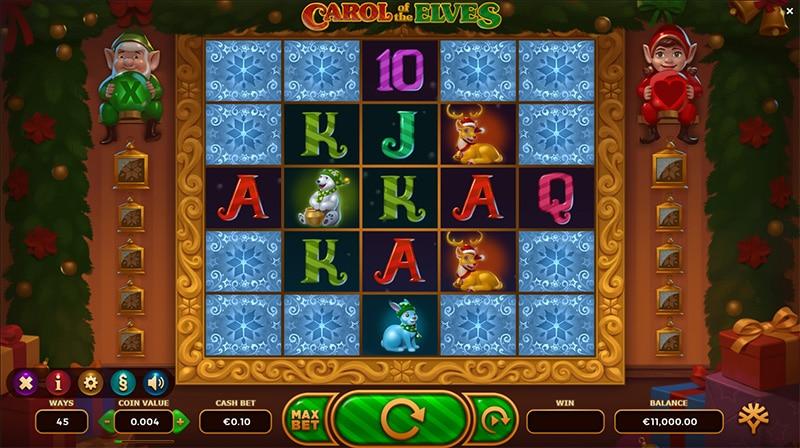Carol of the Elves Slot Screenshot - CasinoTop