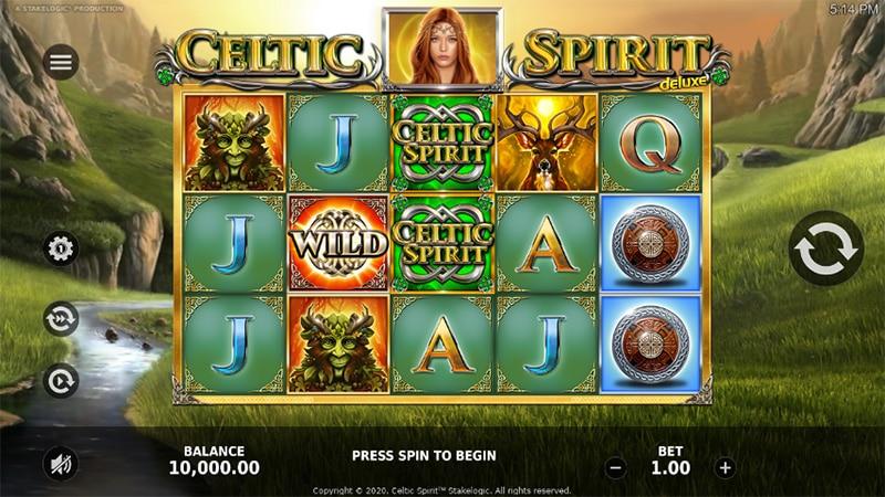 Celtic Spirit Slot Screenshot - CasinoTop
