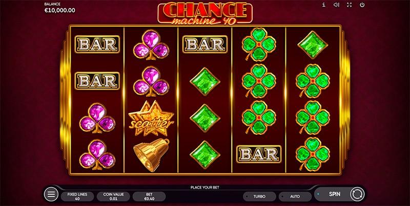 Chance Machine 20 Slot Screenshot - CasinoTop