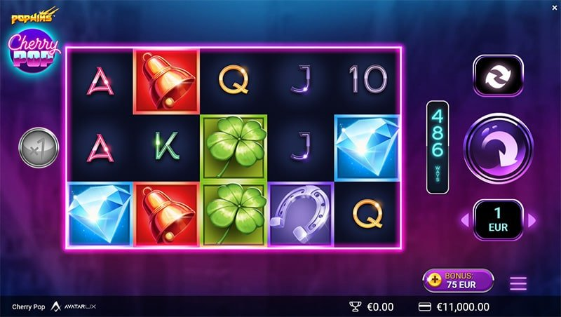 Cherry Pop Slot Screenshot - CasinoTop