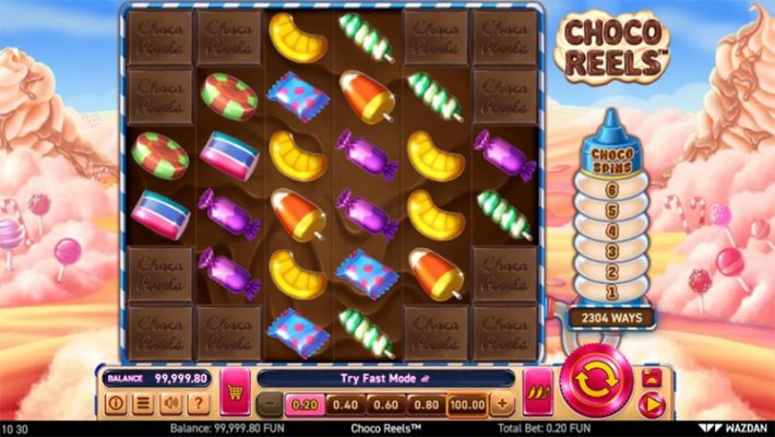 Choco Reels Slot Images - CasinoTop