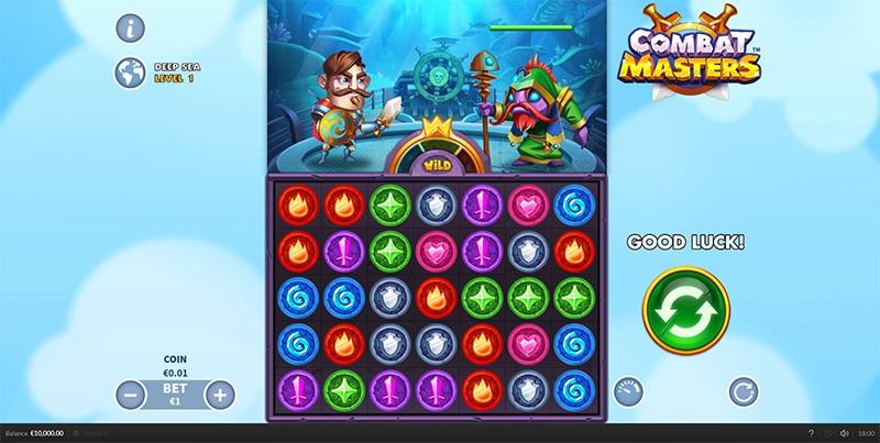 Combat Masters Slot Screenshot - CasinoTop