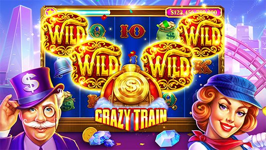 Crazy train game slotomania