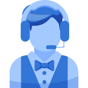 Customer Support football icon
