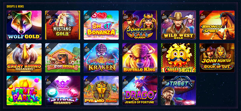Daily Drops & Wins Network Promotion 2020 - 4 StarGames inner - CasinoTop