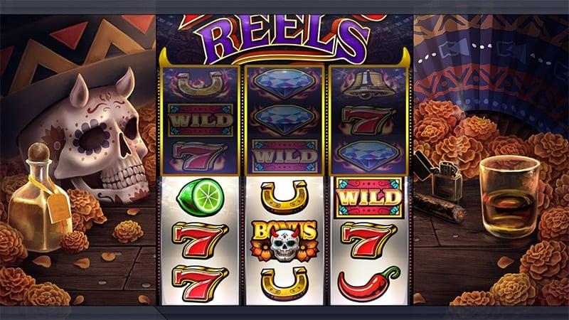 Diablo Reels Slot Screenshot - CasinoTop