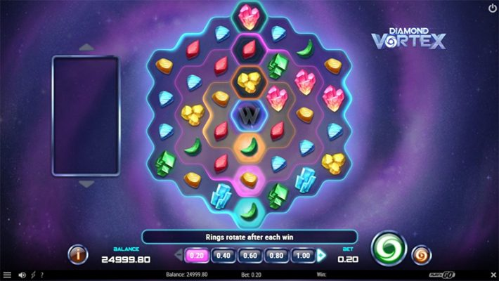 Diamond Vortex Slot Images - CasinoTop