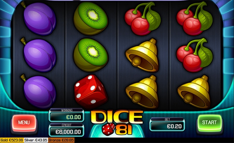 Dice 81 Slot Screenshot - CasinoTop