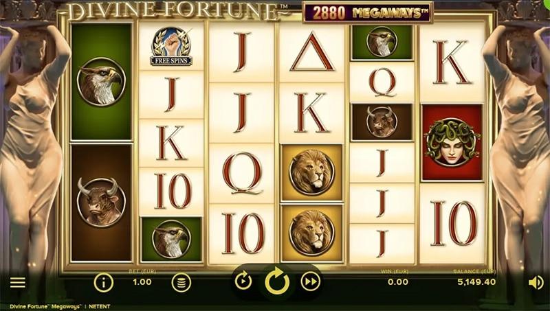 Divine Fortune Megaways Slot Screenshot - CasinoTop