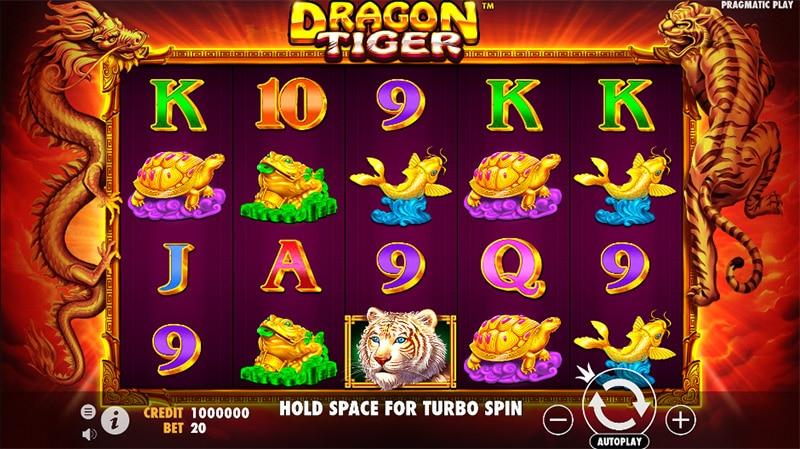 Dragon Tiger Slot Screenshot - CasinoTop