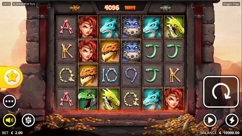 Dragon Tribe Slot Screenshot - CasinoTop