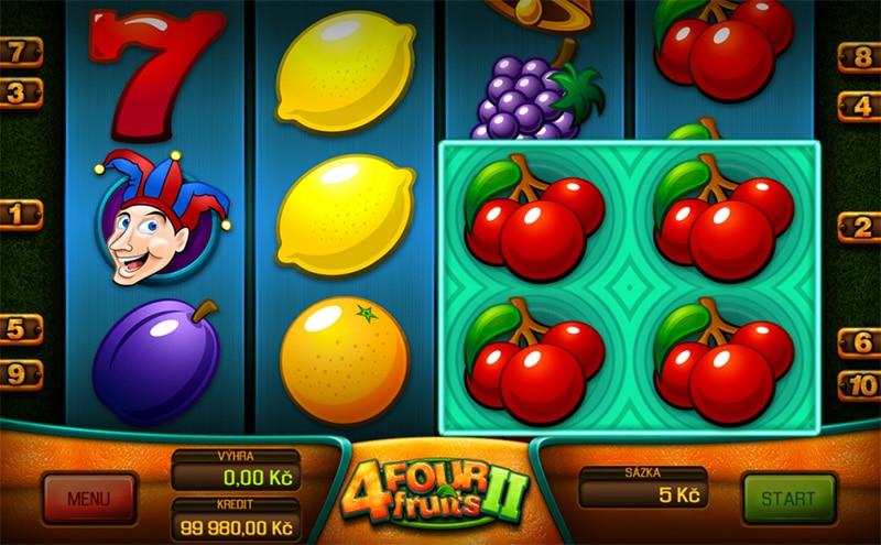 Four Fruits II Slot Screenshot - CasinoTop
