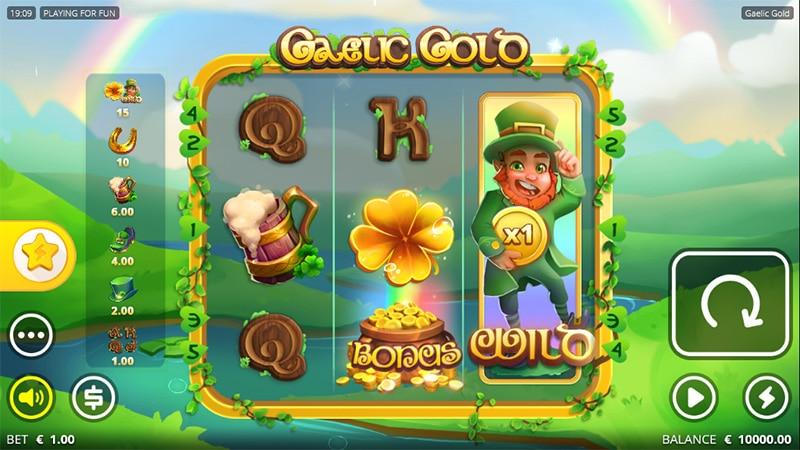Gaelic Gold Slot Screenshot - CasinoTop