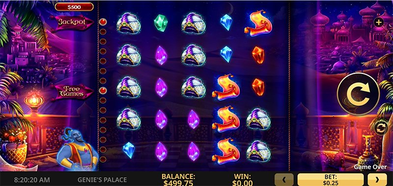Genie's Palace Slot Images - Casinotop