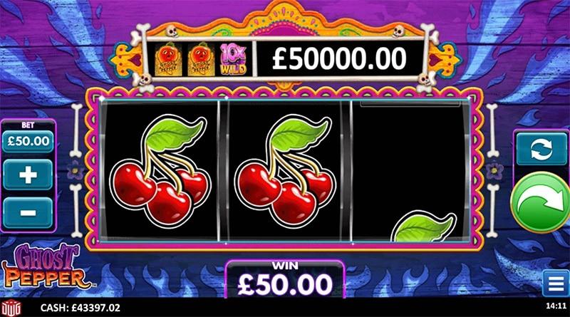 Ghost Pepper Slot Screenshot - CasinoTop