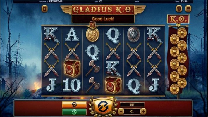 Gladius K.O Slot Images - CasinoTop