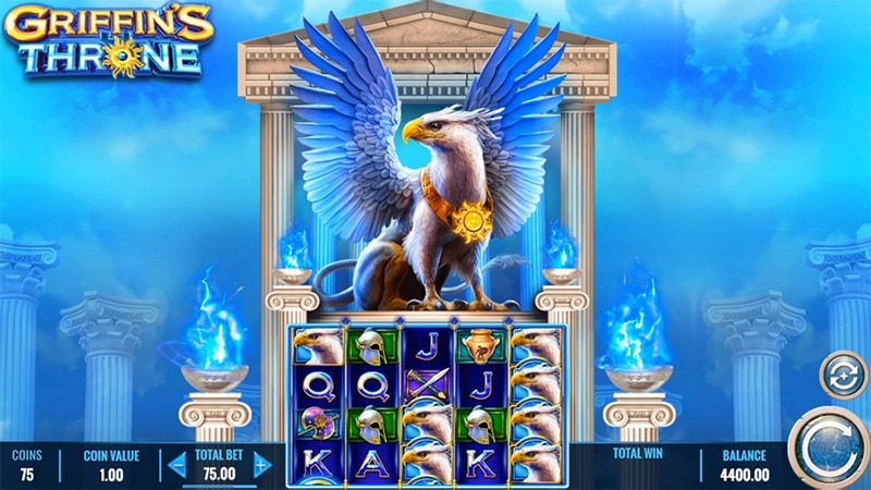 Griffins Throne Slot Screenshot - CasinoTop