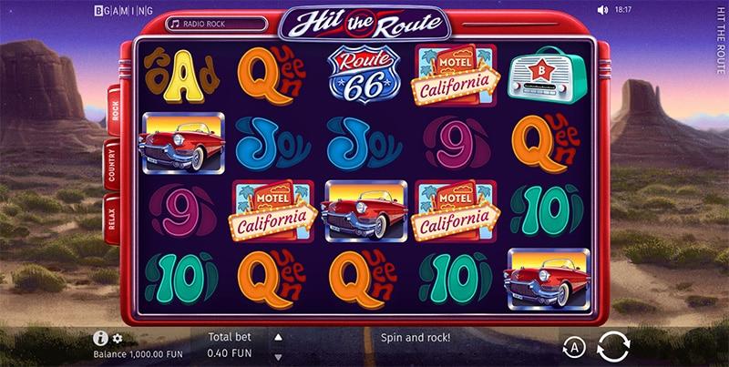 Hit the Route Slot Screenshot - CasinoTop