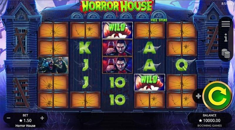 Horror House Slot Screenshot - CasinoTop