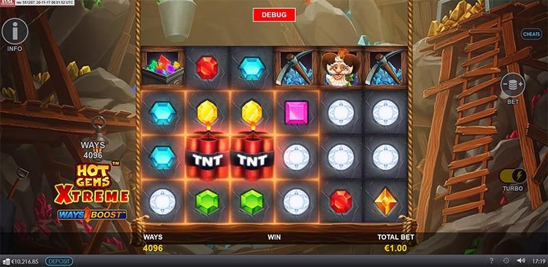 Hot Gems Xtreme Slot Screenshot - CasinoTop