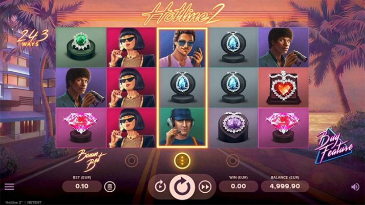 Hotline 2 Slot Images - CasinoTop